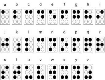 braille dots